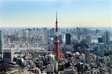 Japon, Tokyo tower