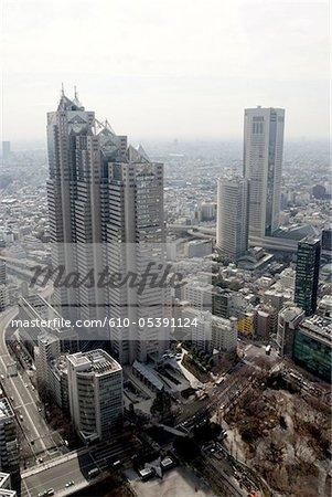 Japan, Tokyo, Shinjuku, buildings
