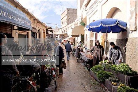 Marokko, Taroudant, Suk