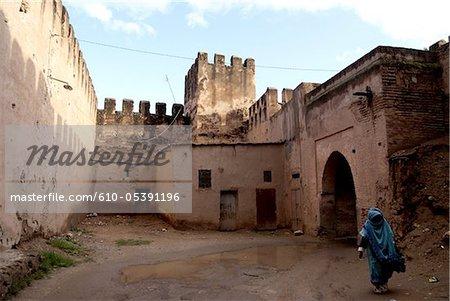 Morocco, Taroudant, kasbah