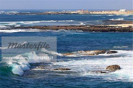 Espagne, Canaries, Cotillo, la côte