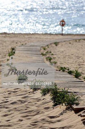 Spanien, Kanarische Inseln, natürlichen Park von Corralejo, Glass Beach