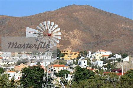 Spain, Canary islands, Taralajero, windmill