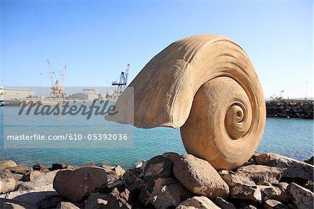Spanien, Kanarische Inseln, Puerto del Rosario, Hafen