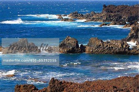 Spain, Canary islands, Lanzarote, los Hervideros