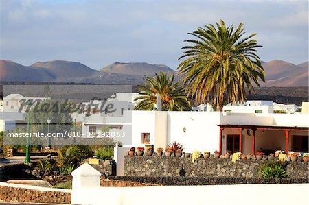Spanien, Kanarische Inseln, Lanzarote, in der Nähe von Nationalpark Timanfaya, Yaiza