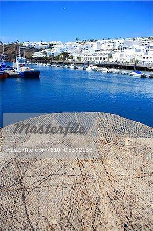 Spanien, Kanarische Inseln, Lanzarote, Puerto del Carmen, den Port