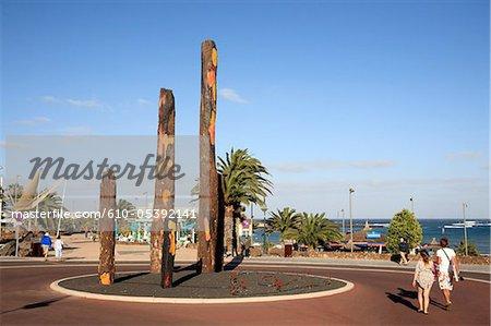 Espagne, Iles Canaries, Lanzarote, Costa Teguise