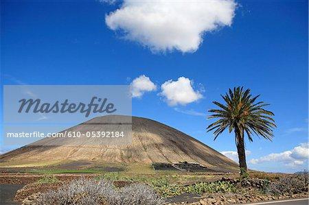 Spanien, Kanarische Inseln, Lanzarote, Vulkan