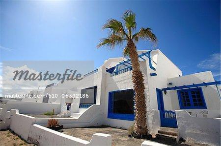 Espagne, Iles Canaries, Lanzarote, Caleta de Famara