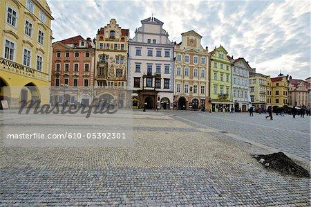 Place staromestske République tchèque, Prague,