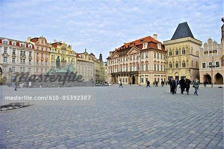 Palais Kinský carré, de République tchèque, Prague, staromestske