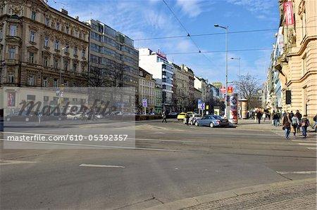 Tschechien, Prag, Venceslas Quadrat
