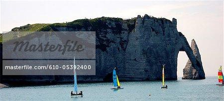 France, Normandy, Etretat, cliffs