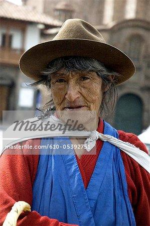Peru, Cuzco, portrait