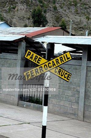 Pérou, Cordillère de Vilcanota, gare