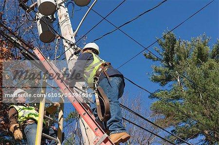 Installateurs de câble installation câble pour la télévision par câble