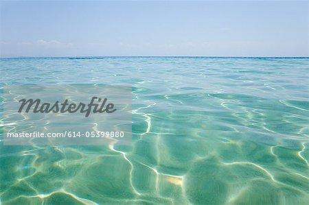 Peaceful water off Penhentian Kecil, Perhentian Islands, Malaysia