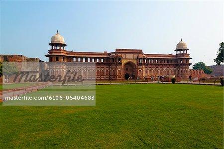 Interior gardens of Agra Fort
