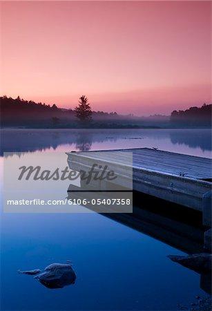 Black Moshannon State Park am Morgen