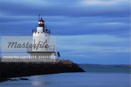 Printemps Ledge Point Lighthouse, Portland, Maine