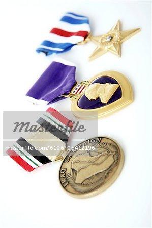Medaillen