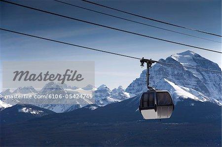 Ski-Gondel