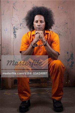 Afro-américain en Prison