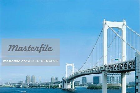 Pont de l'arc-en-ciel Odaiba
