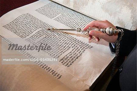 Bar Mitzvah de lecture de la Torah