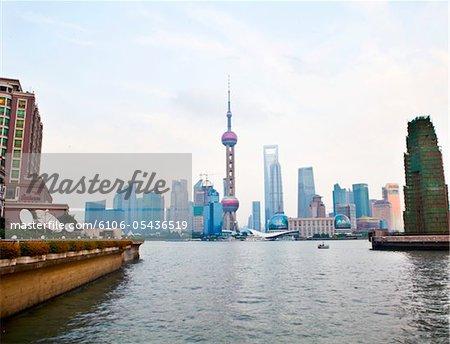 Shanghi Skyline