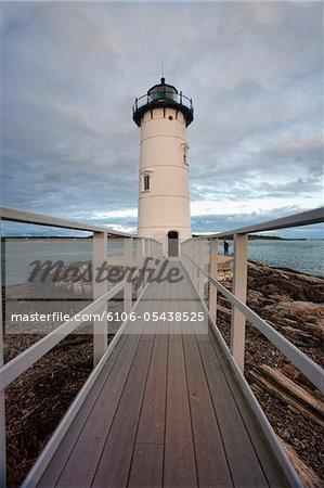 Portsmouth Hafen Leuchtturm
