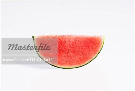 Organischen Wassermelone Slice