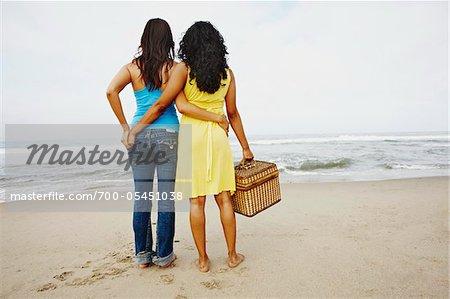 Couple Looking at Ocean