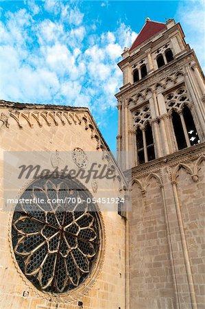 Cathédrale de St. Lawrence, Trogir, comitat de Split-Dalmatie, Croatie