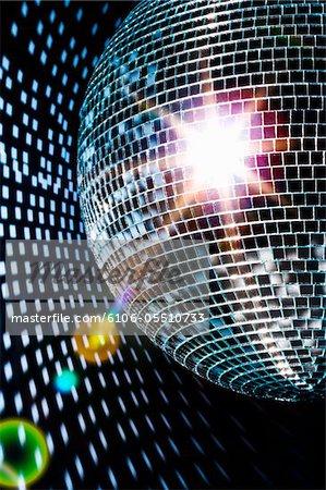 Disco-Kugel, close-up