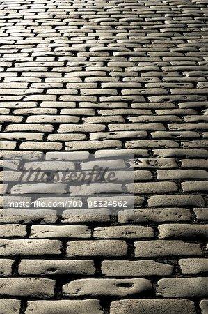 Cobblestone Street, Londres, Angleterre