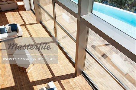 Windows in modernen Haus