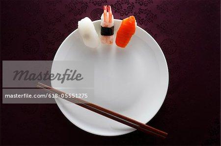 Sushi-Bild, Konzept
