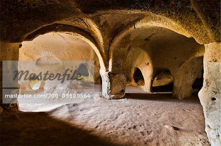 Direkli Church, Zelve Archaeological Site, Cappadocia, Nevsehir Province, Turkey