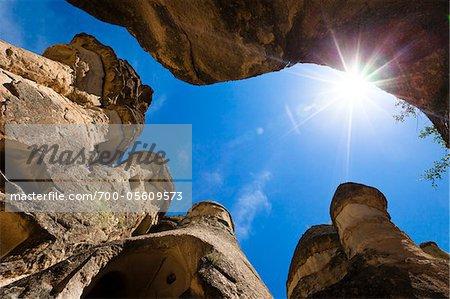 Rock, Formationa, Pasabagi, Kappadokien, Nevsehir, Türkei