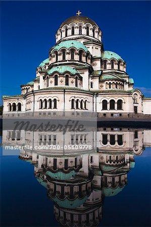 Cathédrale Alexandre Nevski, Sofia, Bulgarie