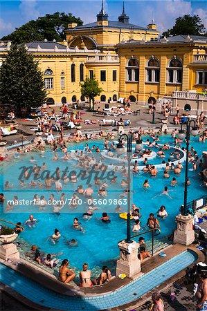 Szechenyi Thermal Baths Complex, Budapest, Hungary