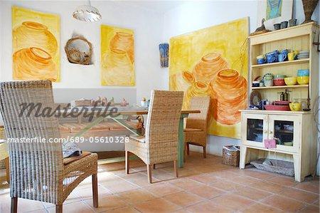 Mediterrane Wohnzimmer