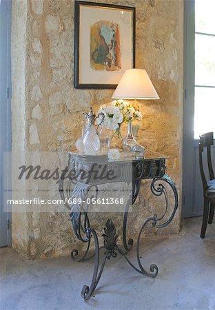 Objets de décoration lampe und sur table