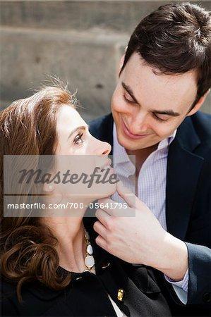 Gros plan d'un Couple