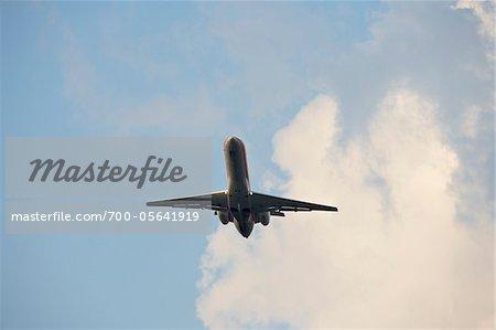 Avion prise