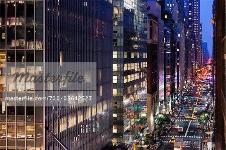 Madison Avenue, New York, New York, USA