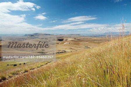 Vue des Monts Maluti, Golden Gate Highlands National Park, Free State Province, Afrique du Sud