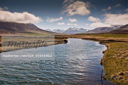 Rivière Fljotaa, Islande
